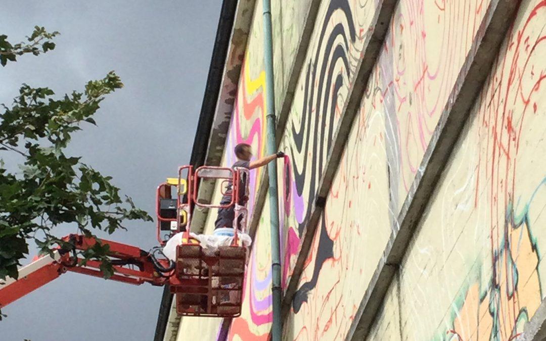 Die Presse über 1010s Mural auf dem KEBAP-Bunker