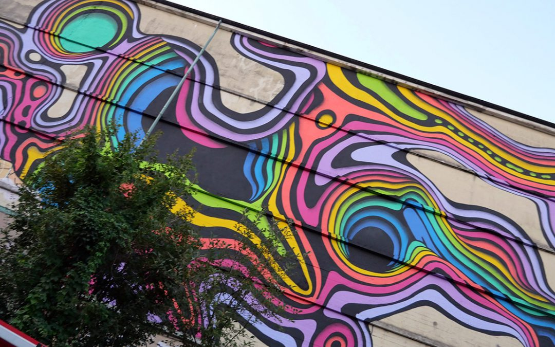 Rückblick: Vernissage zum Mural von Künstler 1010